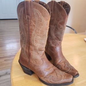 Ariat Round Up leather Boots